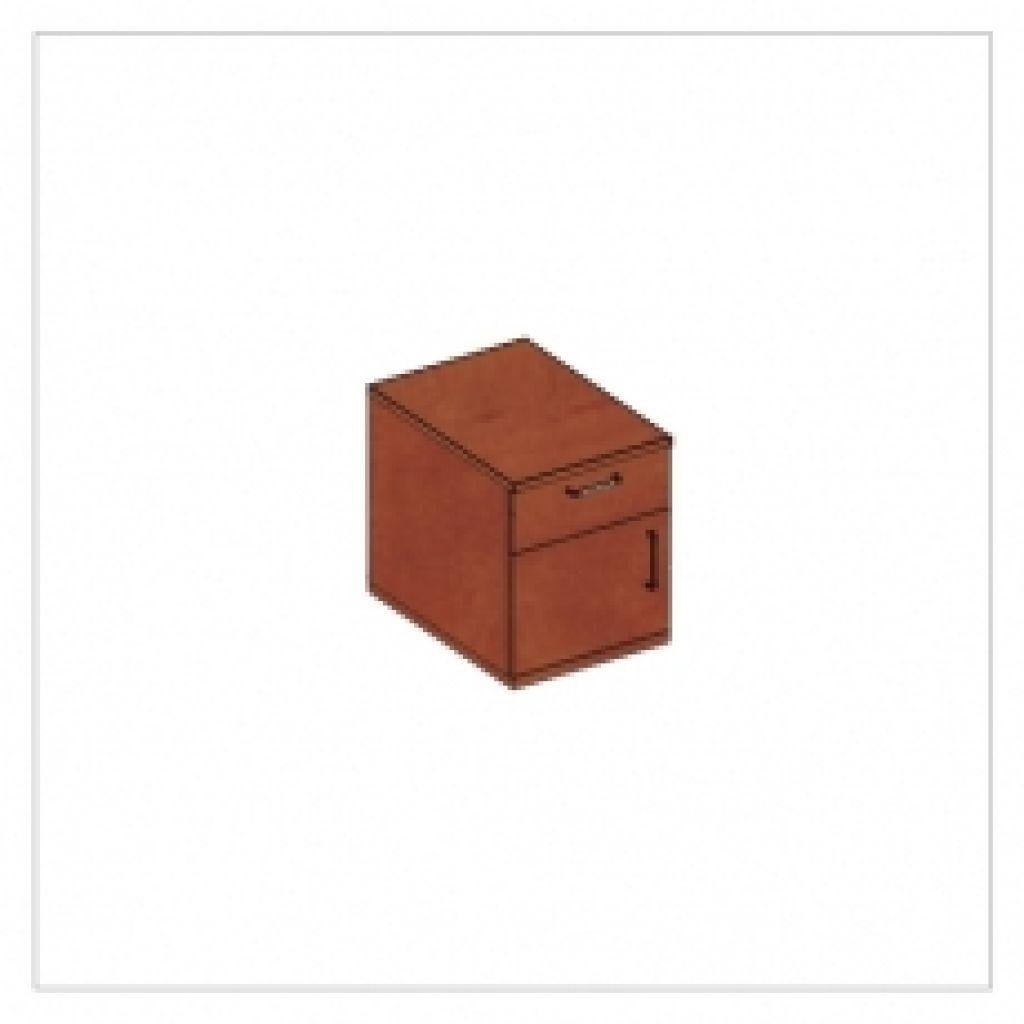 Kwantum irodabútor-1fiókos-ajtos-konténer
