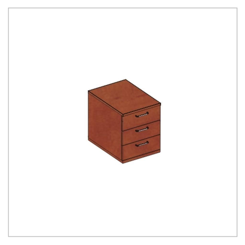 Kwantum irodabútor-3 fiókos-konténer