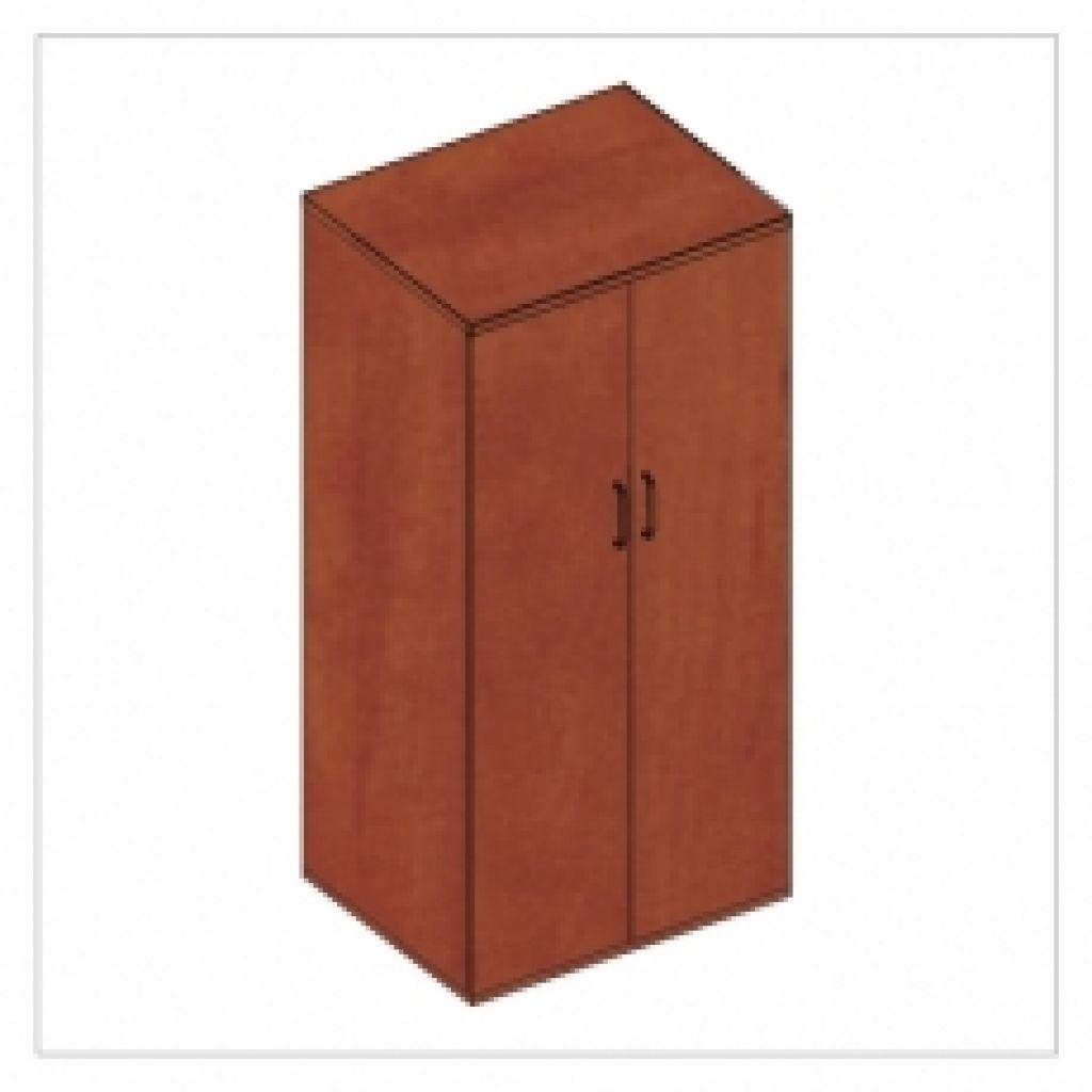 Kwantum irodabútor ruhás magas ajtós szekrény