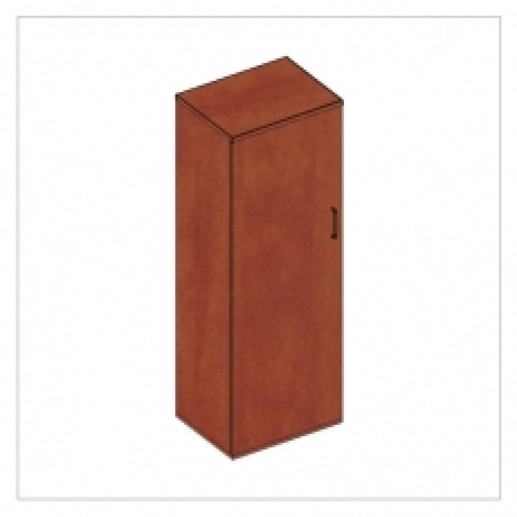 Kwantum irodabútor keskeny-ruhás magas ajtós szekrény