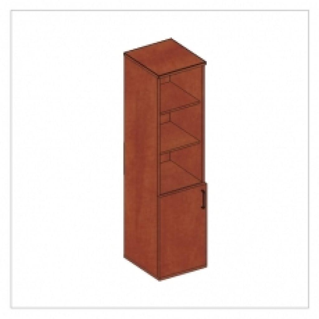 Kwantum irodabútor keskeny magas szekrény