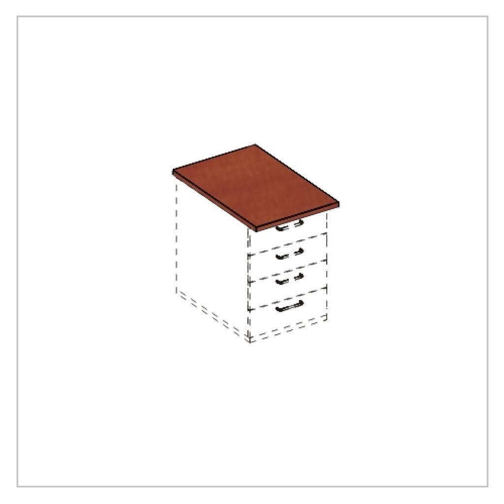 Kwantum irodabútor-tető lap konténerhez