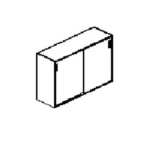 Silver irodabútor-irodai-középmagas-tolóajtós-szekrény